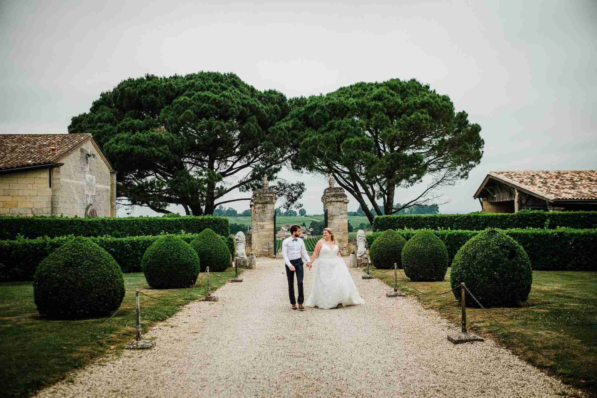 Wedding portrait in Bordeaux