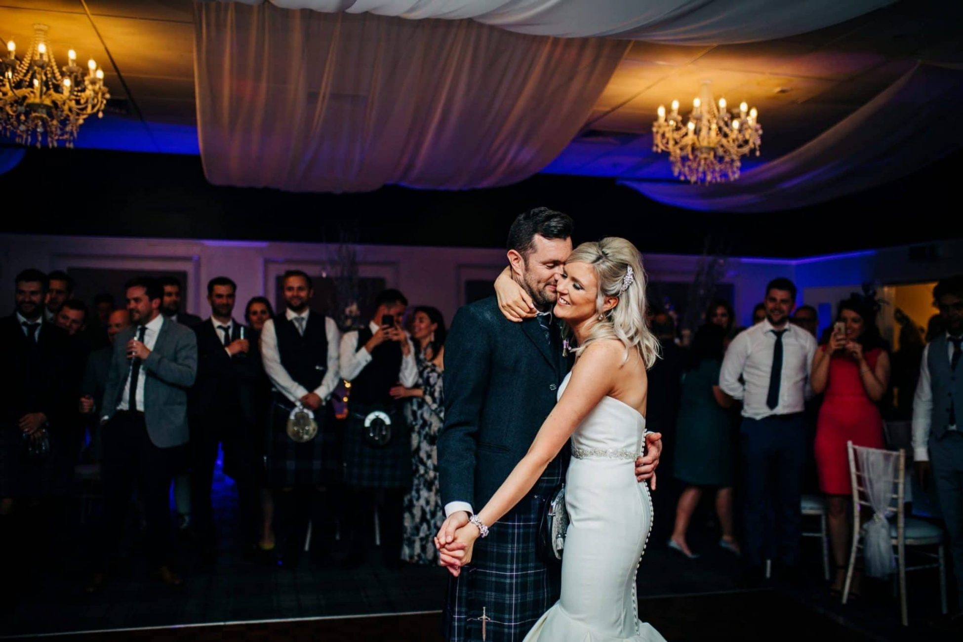 First dance at Barony Castle