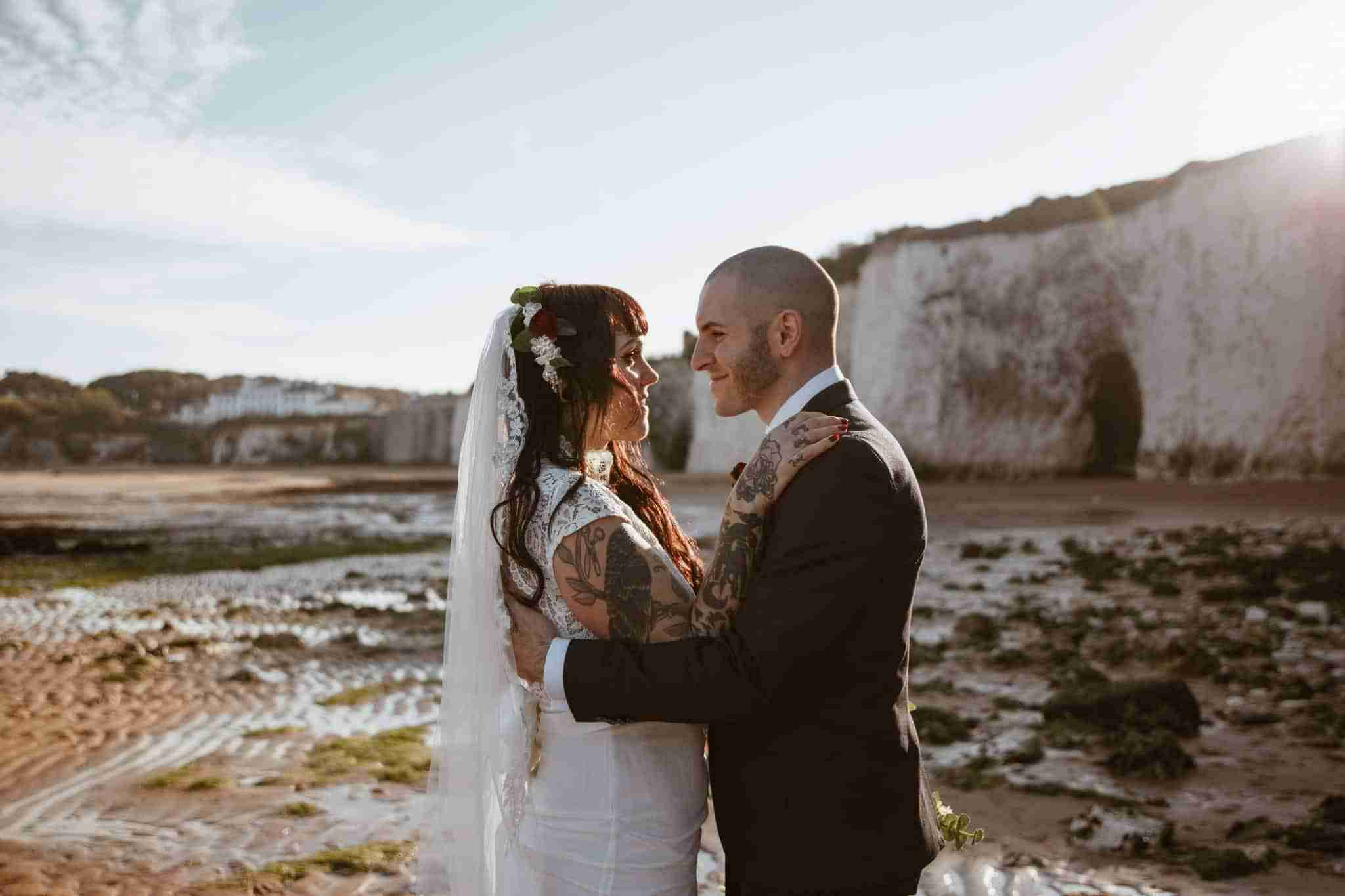 Kim + Roman – An intimate wedding in Kent
