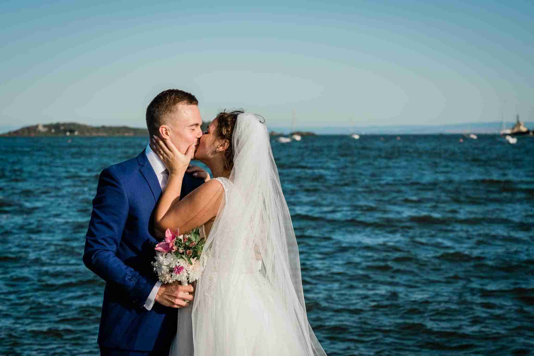 Anna + Tuukka – An Intimate Wedding at Dalgety Bay Sailing Club, Fife