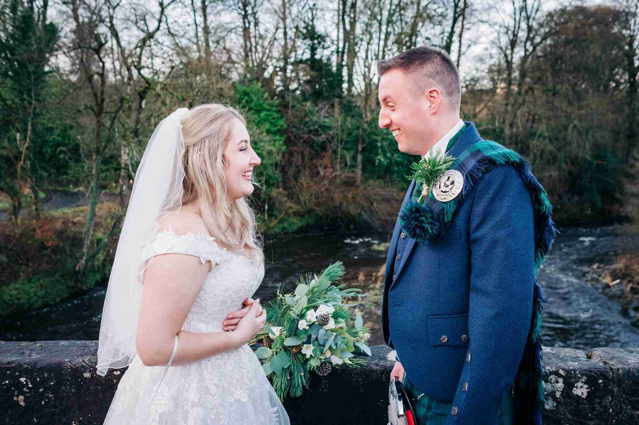 Lauren + Ross – A Sorn Castle Intimate Wedding